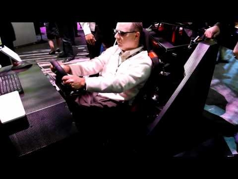 RCRAFT LG 3D Monitor & Racing Simulator