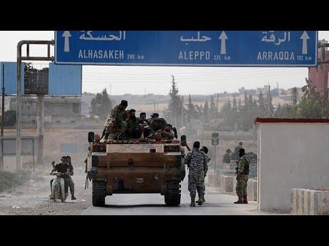 Εισβολή στη Συρία: Κυρώσεις από ΗΠΑ και «βολές» από Ευρωπή στην Τουρκία…