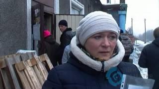 Выдача зимних наборов в Александровке