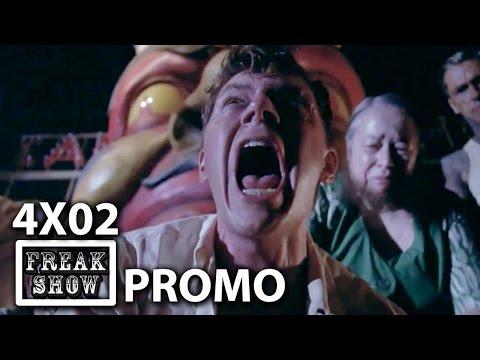 "American Horror Story: Freak Show 4×02 Promo ""Massacres and Matinees"""