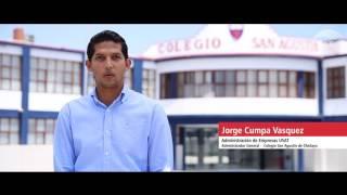 Jorge Cumpa Váquez - Egresado de Administración de Empresas USAT