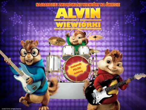 Tekst piosenki Alvin i Wiewiórki - Wódka musi być po polsku