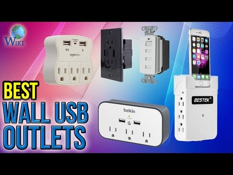 10 Best Wall USB Outlets 2017