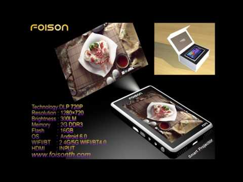 FSP5 mini pocket touch projector video