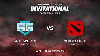 SG e-Sports против Youth Fury, Первая карта, SA квалификация SL i-League Invitational S3