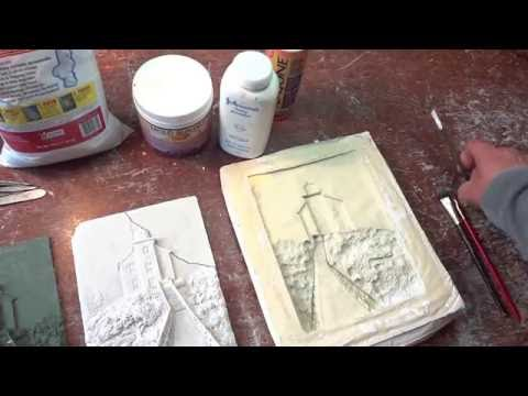 Relief Sculpture Process Overview