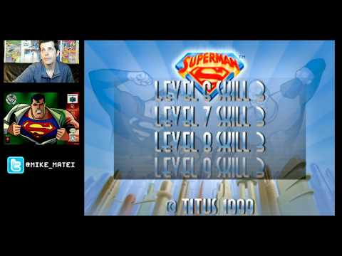 Superman 64 (N64) Part 6 - Cinemassacre Plays (видео)