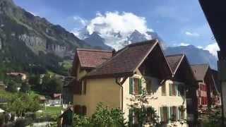 Wengen Switzerland  city photos : Summer walk through the Wengen - Switzerland