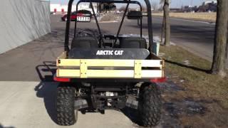 8. 2009 Arctic Cat XTX 700 H1 EFI