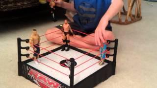 Blake's WWE wrestling figures match