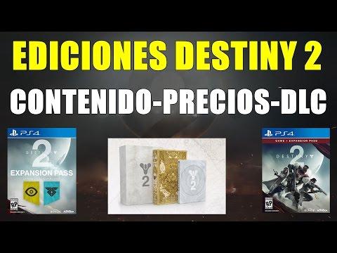 EDICIONES DESTINY 2 |  PRECIOS CONTENIDO DLC RESERVAS Y MUCHO MAS | (видео)