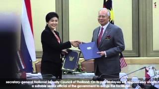 Najib Razak : Lawatan Rasmi Perdana Menteri Thailand Yingluck Shinawatra 2013