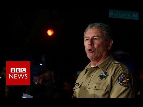 Thousand Oaks: Gunman kills 12 in California bar - BBC News