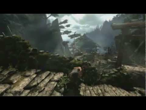 xbox 360 e3 2012 - Tomb Raider Gameplay Demo live from E3 2012!! Cannot wait for this game!! Let me know what you think with a Like and a comment!! My Twitter: http://twitter.c...