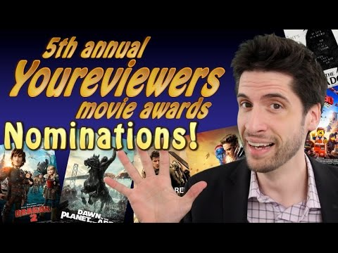 2015 Youreviewers Movie Awards Nominees!