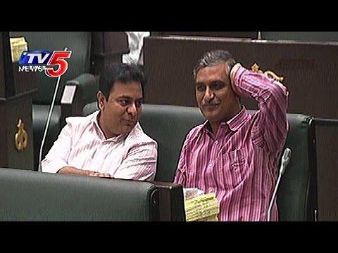 తెలంగాణ అసెంబ్లీలో బావ బామ్మర్దుల సందడి ! | KTR, Harish Rao Special Attraction