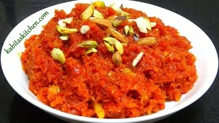 Gajar Ka Halwa Recipe-Simple and Delicious Gajar Halwa-Carrot Halwa Recipe-Easy Indian Dessert