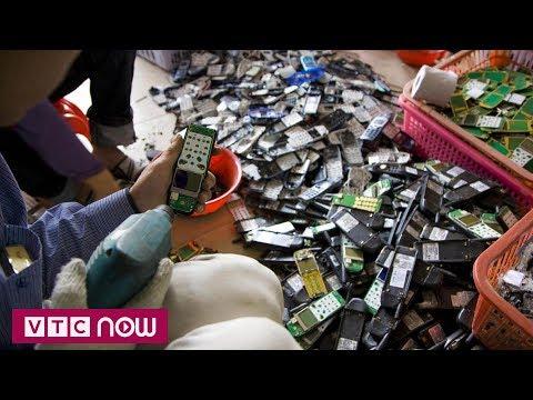 Hàn Quốc tận thu kim loại hiếm từ rác thải điện tử  | VTC1 - Thời lượng: 103 giây.
