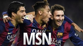 MSN - Messi, Suárez, Neymar vs Bayern Múnich ○ Home (06/05/2015) ○ HD ▷ Messi vs Bayern Múnich ○ Home ○ UCL 2015...
