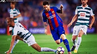 """Download the Onefootball app here: http://bit.do/HenrikLehmann_MayThe fourth and final episode in the series with the best dribbling skills, tricks and flicks by Leo Messi for FC Barcelona and Argentina in the 2016/17 season. Enjoy!Click """"Show more"""" to see the music and more!● Edited and produced by: Henrik Lehmann    Twitter: https://twitter.com/henriklehmannn● Arabic speaking? Check out FCB World:    Twitter: https://twitter.com/FCBW_A7♫ Music: Changing Faces - I Can't Change It (Instrumental)● Clips from: SH10Comps, IramMessiTVThank you for watching! Please leave a like if you enjoyed and if you didn't, leave a dislike and tell me what I can do better. I'm always thankful for constructive critisism! Subscribe to my channel to watch my latest videos as they come out.""""Copyright Disclaimer Under Section 107 of the Copyright Act 1976, allowance is made for """"fair use"""" for purposes such as criticism, comment, news reporting, teaching, scholarship, and research. Fair use is a use permitted by copyright statute that might otherwise be infringing. Non-profit, educational or personal use tips the balance in favor of fair use."""""""