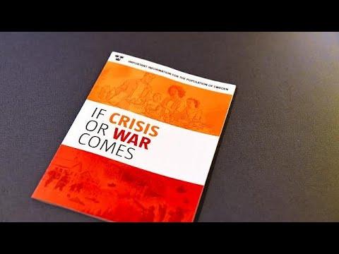 Σουηδία: Κρατικά φυλλάδια με οδηγίες επιβίωσης