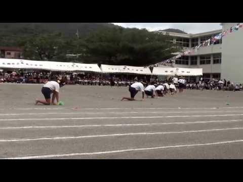 H26年度 奄美小学校 黄組応援団