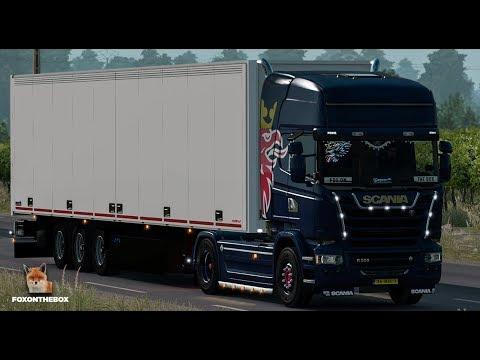 Scania CRACKLE V8 Sound 1.28.x