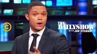 Senior International Correspondent Trevor Noah fills Jon in on what Boko Haram was doing in Nigeria while the world was ...