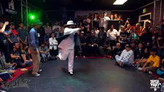 Dnoi vs Greenteck – Freestyle Session 2017 Popping Semi Final (Another angle)