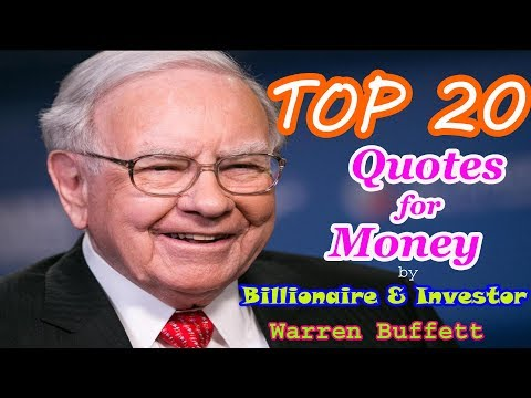 Quotes on life - Top 10 Warren Buffet Quotes for Money and Fear