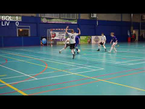 Bolton Futsal Club Development Vs Liverpool Futsal Club Development Friendly 18th February 2018