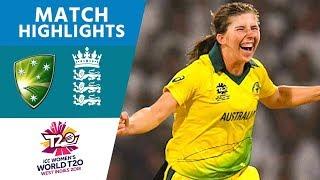 THE FINAL   Australia v England    Women's #WT20 2018 - Highlights
