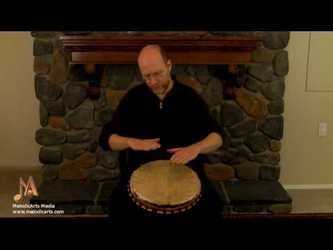 A Fast 6/8 Rhythm: Djembe tutorials with Bruce Harding
