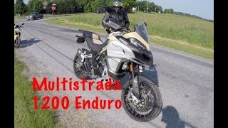 6. Ducati Multistrada 1200 Enduro Review