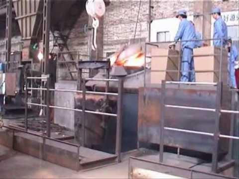 Индукционнная плавильная печь 3т стали IGBT 1,8 МВт