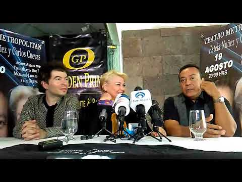Conferencia de Prensa Cuevas-Nuñez