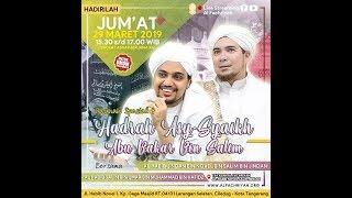 Video HADRAH ASY SYAIKH ABU BAKAR BIN SALIM | Jum'at, 29 Maret 2019 MP3, 3GP, MP4, WEBM, AVI, FLV Mei 2019
