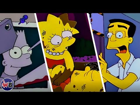 Top 10 DARKEST Episodes of The Simpsons That Are Really Messed Up