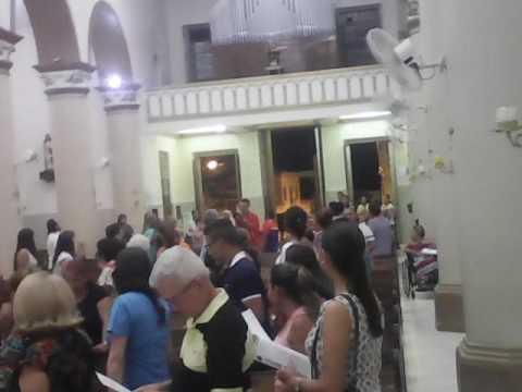 Missa dedicado a Santo Antônio em Barbalha