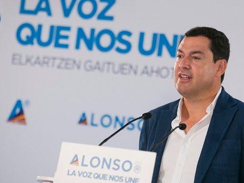 Juanma Moreno interviene en el encuentro de presidentes autonómicos del PP