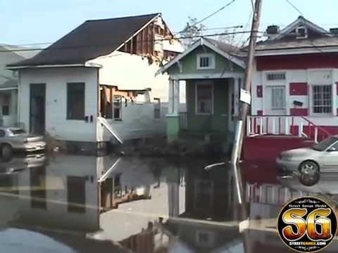 Dramatic footage of Hurricane Katrina damage from 5 years ago