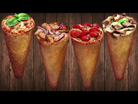 How to make Pizza Cones