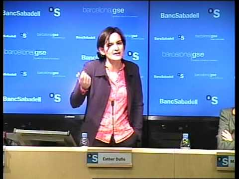 Esther Duflo Spricht in Barcelona Economics Lecture Teil 3/8