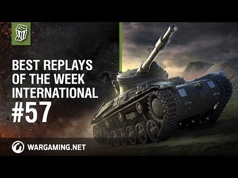 World of Tanks - Best Replays of the Week International #57