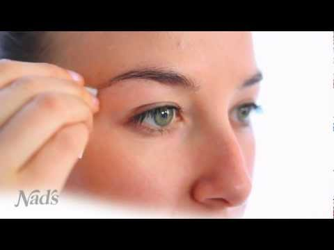 How to enhance your features for this party season by BeautyHeaven - Nad's Natural Hair Removal Ultimate Brow Shaping Kit