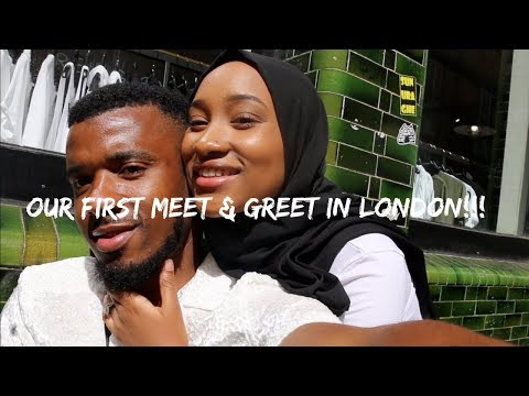 TRAVEL VLOG| WE HAD OUR FIRST MEET & GREET... IN LONDON!!!