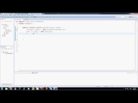 Java Tutorial – 20 – An Array of Objects