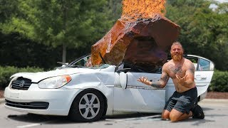 Video Destroying My Friend's Car And Surprising Him With A New One MP3, 3GP, MP4, WEBM, AVI, FLV Agustus 2019