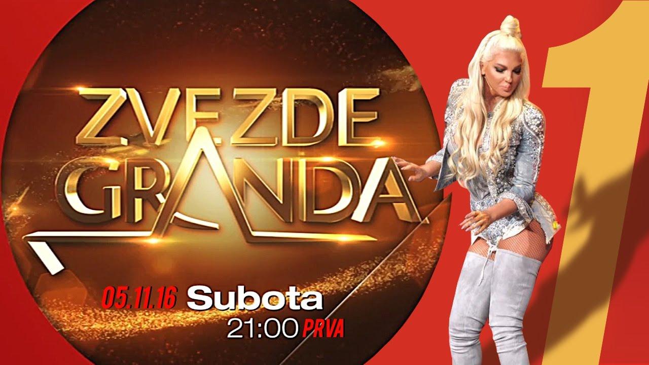 ZVEZDE GRANDA 2016 – 2017 – sedma emisija – 05. 11. – najava