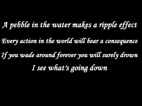 The Red Jumpsuit Apparatus - Face Down (acoustic) W/ Lyrics